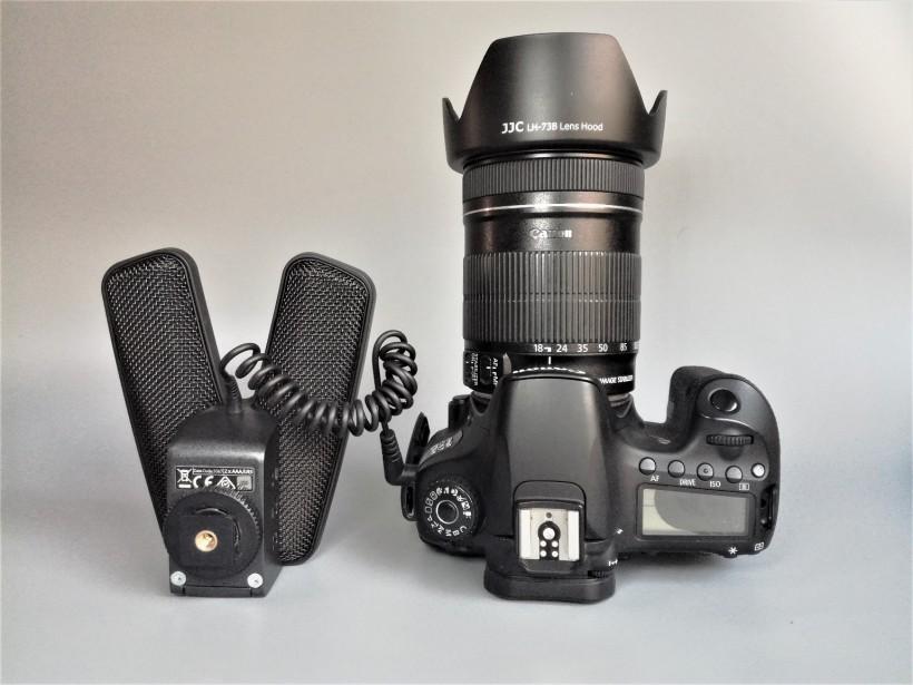 单反相机录音大V——森海塞尔短枪式立体声麦克风 MKE 440 测评