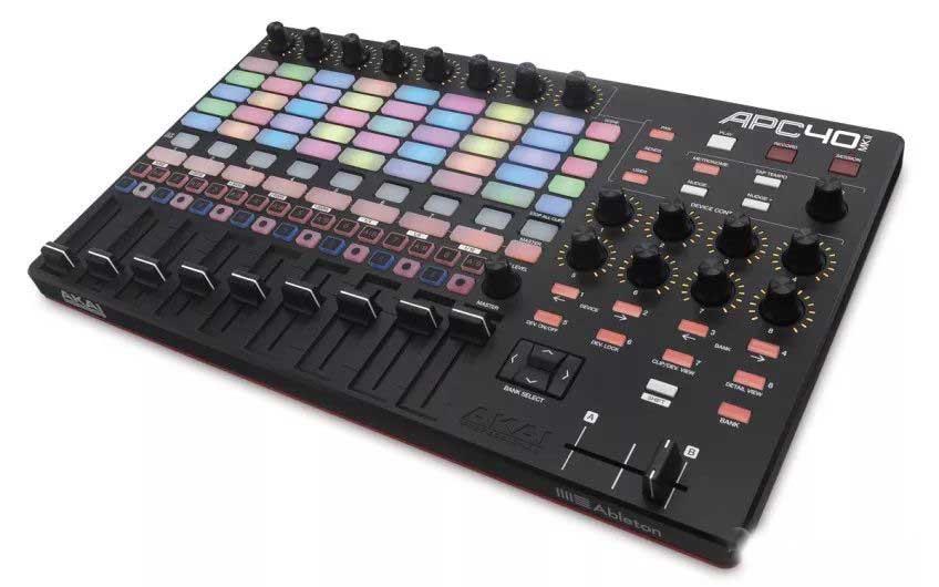 AKAI APC40 MK2,DJ和VJ场合都可以使用