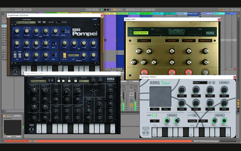 Korg 次时代的移动音乐工作站 Gadget 2 iOS、Mac、PC 全平台上线,还有插件版