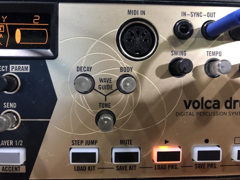 THE NAMM SHOW 2019 展会:Korg 物理建模引擎的数字鼓机 volca drum 一时间上手