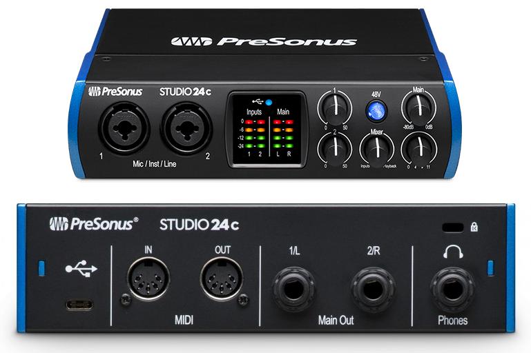 黑色的 Type-C——PreSonus 更新的 studio 系列声卡