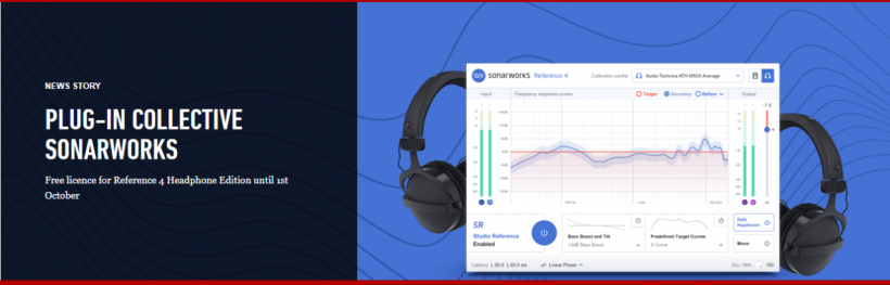 Focusrite 用户福利:插件集锦之 Sonarworks