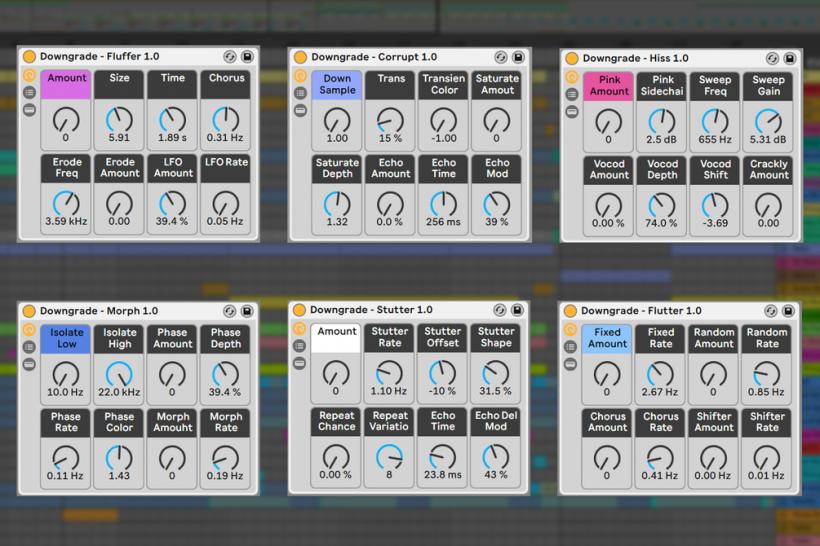 福利:瞬间让音色「蒸汽波」的工具,基于 Ableton 的 Downgrade 效果器集合免费下载