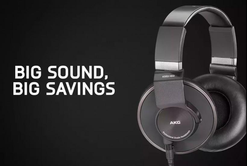 出道即高品质,全新 AKG K553 MKII 耳机重磅来袭