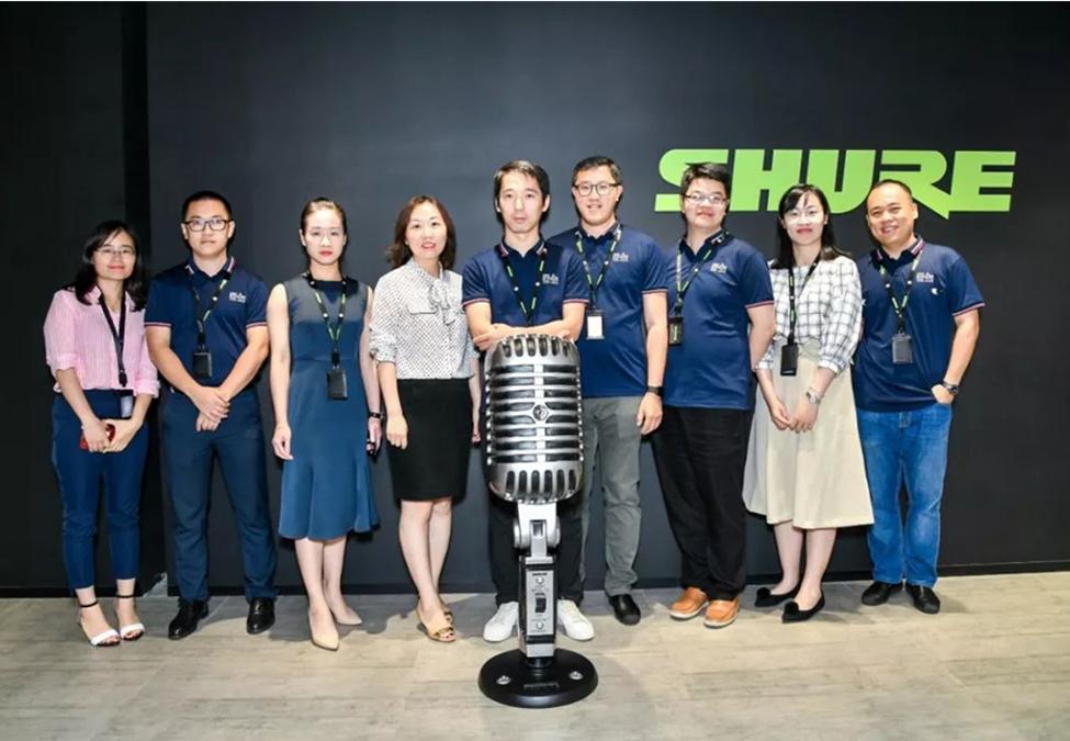 Shure舒尔上海体验中心,亚洲的第三个会议体验中心开幕!