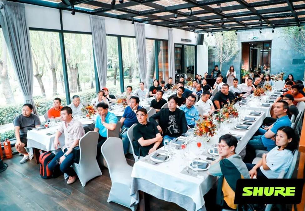 舒尔TwinPlex系列话筒初次在中国正式发布,开启全面上市销售!