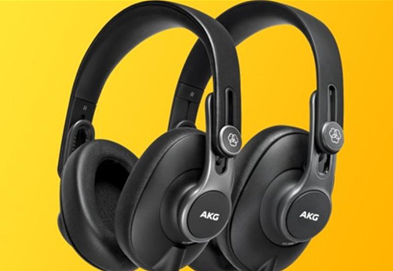 AKG 爱科技发布K361,K371,开头戴式入门级录音室监听耳机