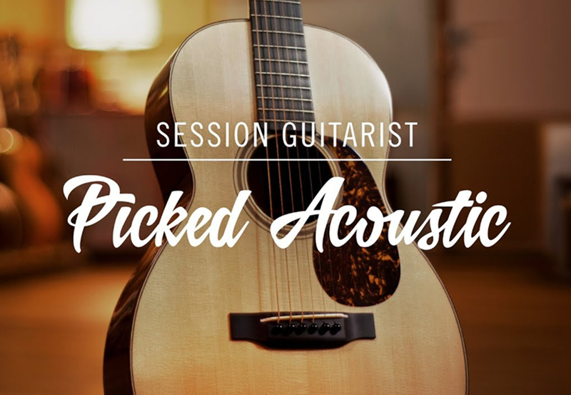 NI发布新品:Picked Acoustic-Session Guitarist 系列之复古钢弦吉他