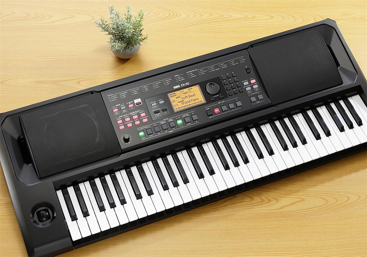 EK-50 CHINA-首台双语印刷面板的KORG编曲键盘