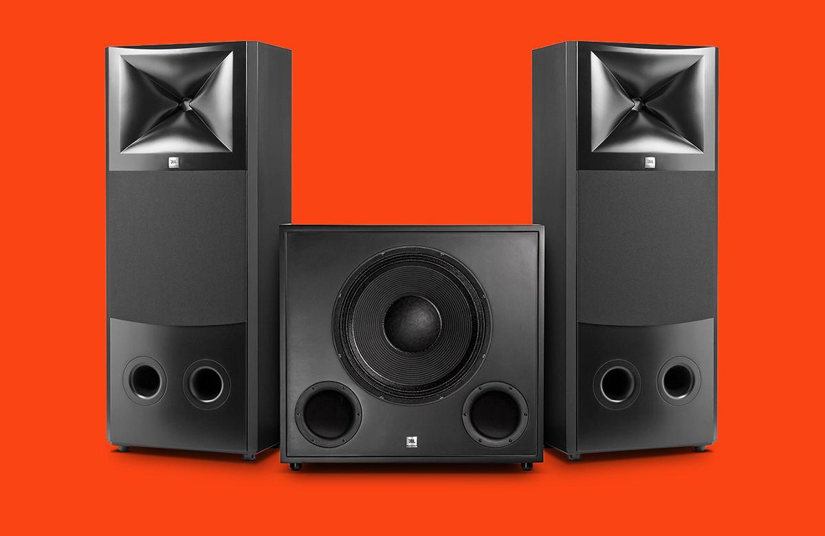 适合大型录音棚的远场监听音箱 JBL M2
