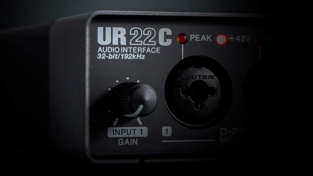 便携式音频接口雅马哈UR22C怎么样?雅马哈UR22C声卡产品介绍