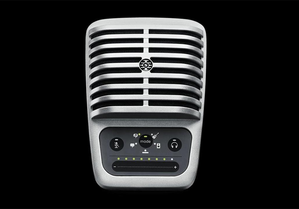舒尔MV51手机专用麦克风,给b站音乐up小姐姐,带来高清音质