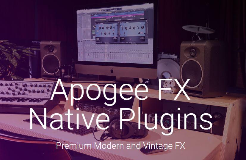 中国地区Apogee产品专属优惠政策,买设备送全套插件包