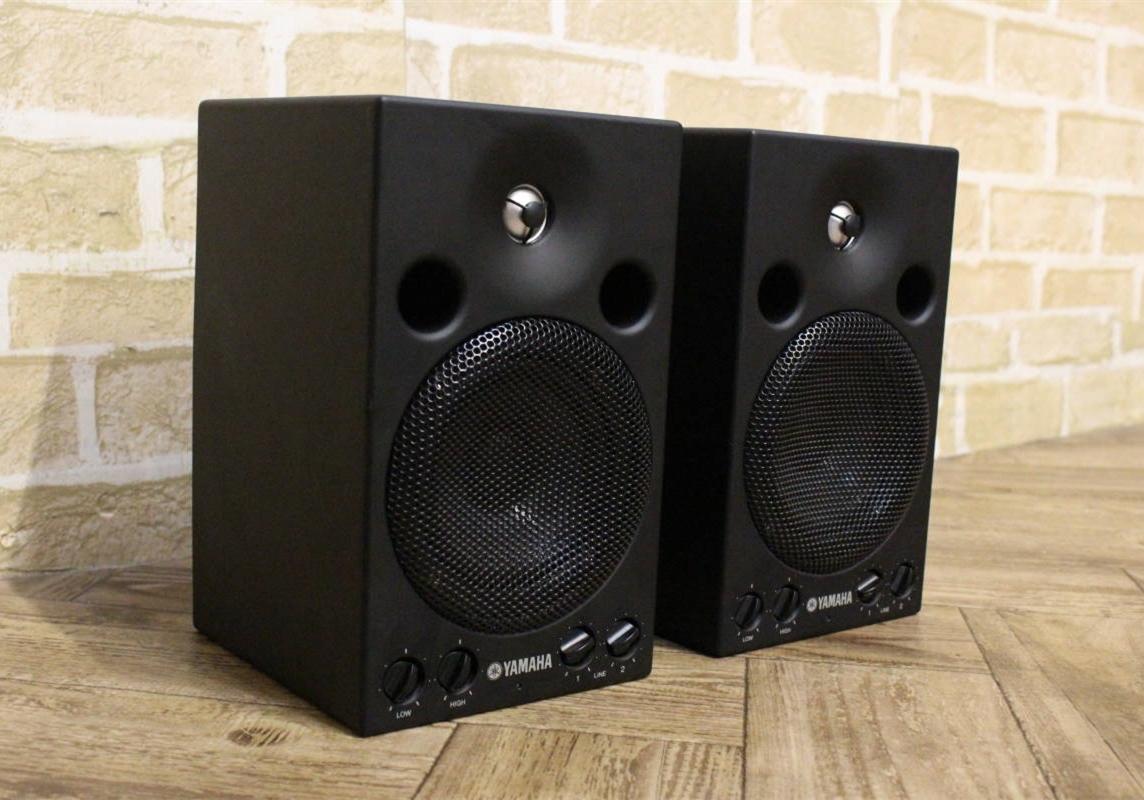 小型录音棚的理想选择 雅马哈MSP3 有源监听音箱介绍