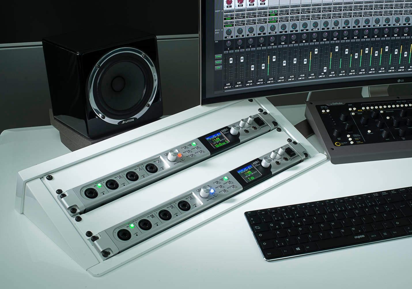 雅马哈 YAMAHA Steinberg AXR4 雷电2音频接口产品介绍
