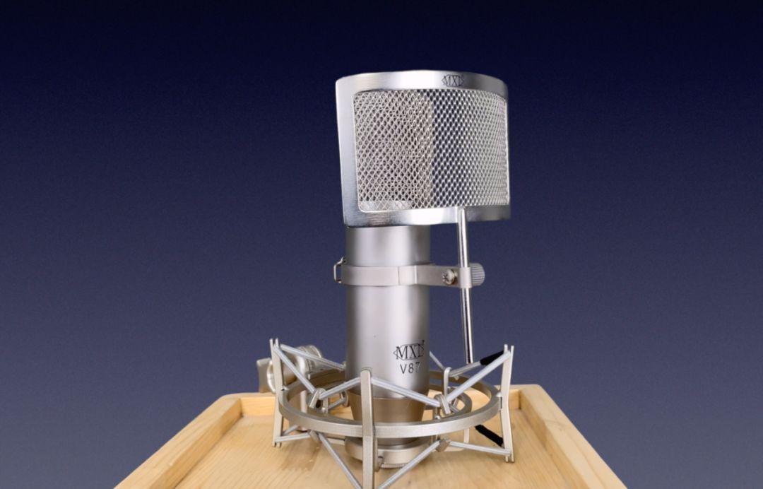 音频工作室专业评测 麦克思乐MXL V87麦克风