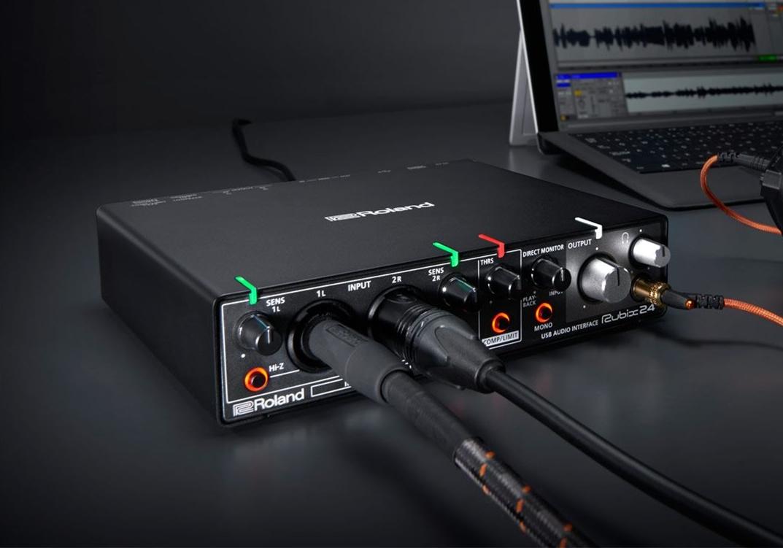 罗兰 Roland Rubix24 专业录音声卡 产品介绍/价格/驱动下载