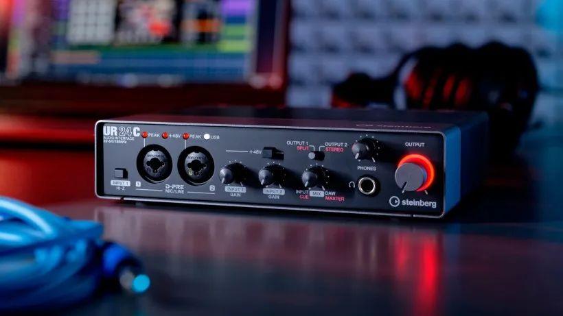 新品声卡发布!雅马哈Steinberg发布双监听模式的UR24C音频接口