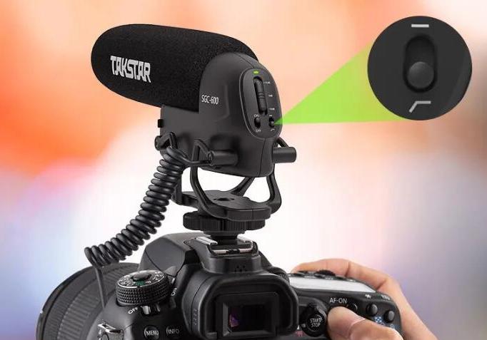 得胜发布 SGC-600 单反/摄像机采访麦克风