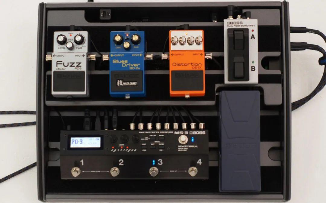 BOSS MS-3 多功能效果切换控制器 5种使用方法