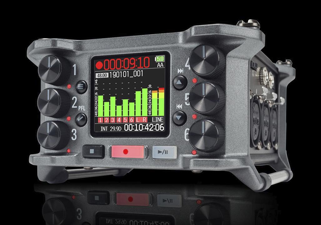 资历深厚专业声音设计师这样评价 Zoom F6 多轨影视级录音机