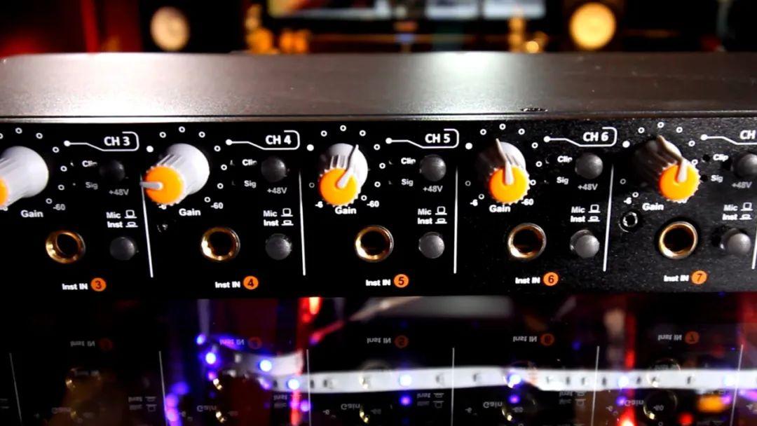小型乐队、录音工作室专用声卡 Umix1010 Rack 产品介绍