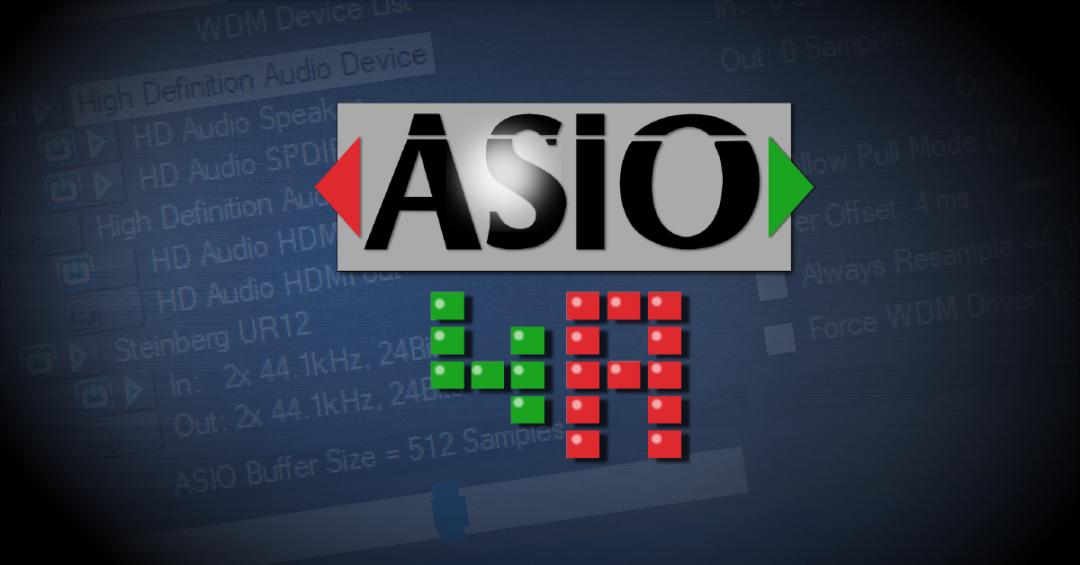 为什么选择带ASIO的声卡?ASIO声卡有什么优势?
