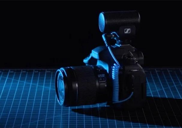 适合摄影师的话筒:Sennheiser 发布 MKE 200 机头麦