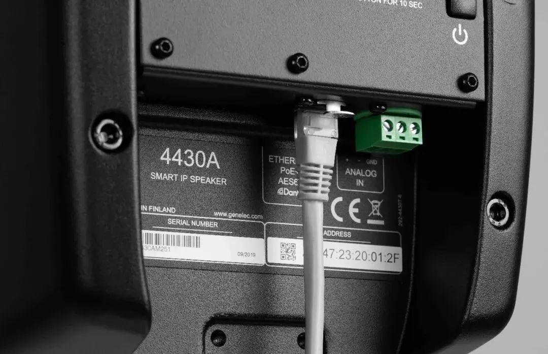 真力发布 Smart IP 固定安装系列音箱