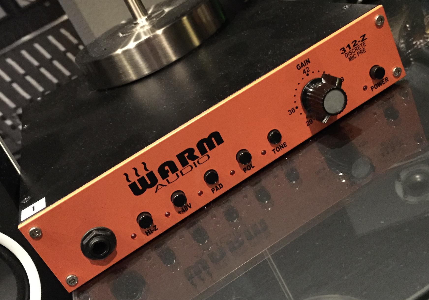 Warm Audio 推出新款话放 WA12 MKII Black 黑色改进版