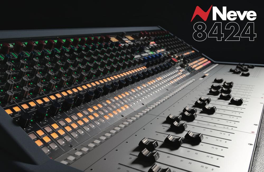 AMS-Neve 8424 Recording 功能介绍