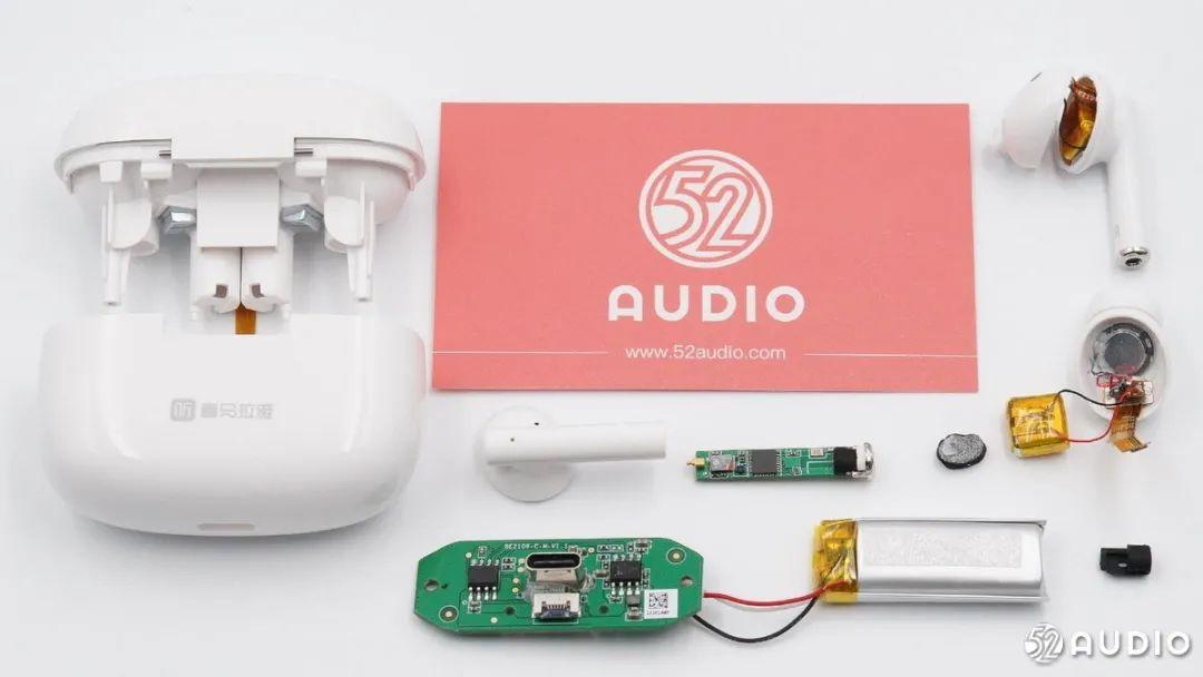 喜马拉雅 小雅AI真无线耳机 拆解评测