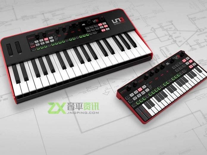IK Multimedia发布新款合成器UNO Synth Pro和UNO Synth Pro