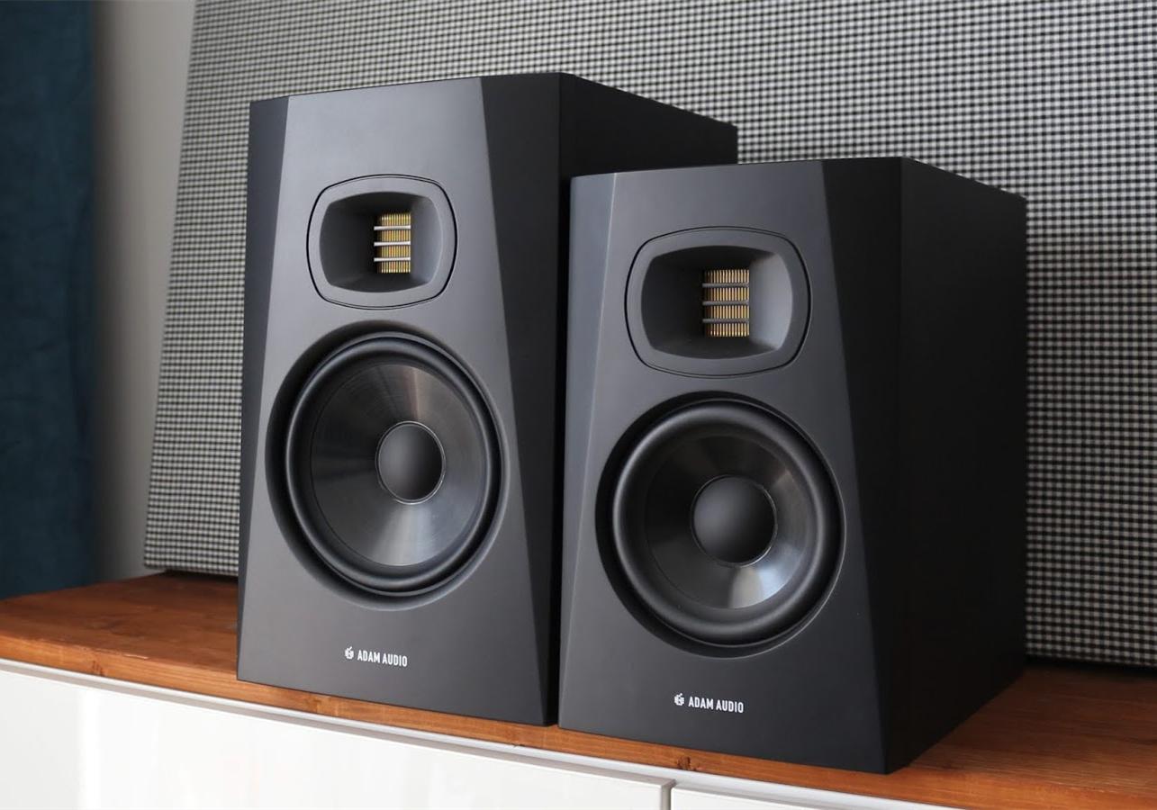视频解析ADAM Audio 亚当监听音箱出色德式气动高音!