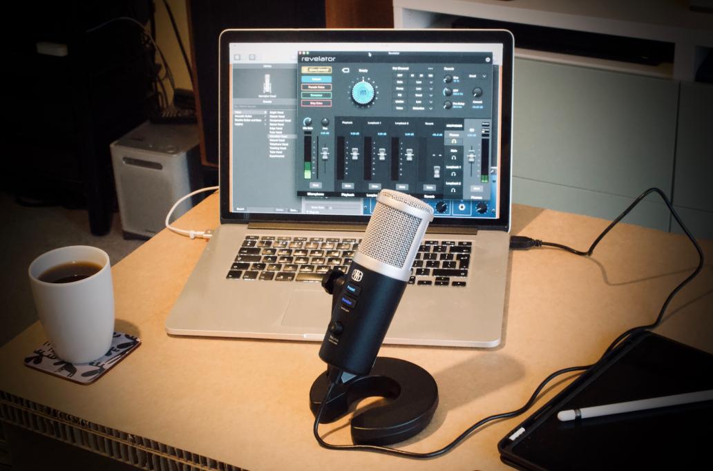 PreSonus Revelator 普瑞声纳USB麦克风评测