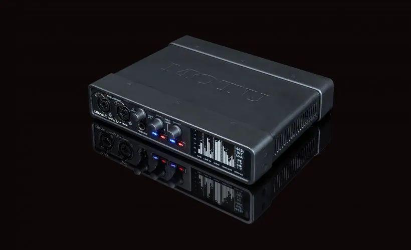 马头发布MOTU UltraLite-mk5 新款声卡 USB-C接口