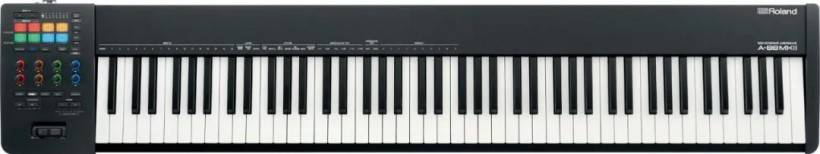 兵马未动,粮草先行:Roland 头款 MIDI 2.0 全配重键盘 A-88 MKII 评测