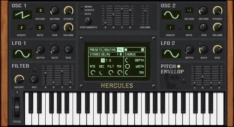 福利:Fruitymasterz 带来免费的 Hercules V2 虚拟合成器插件