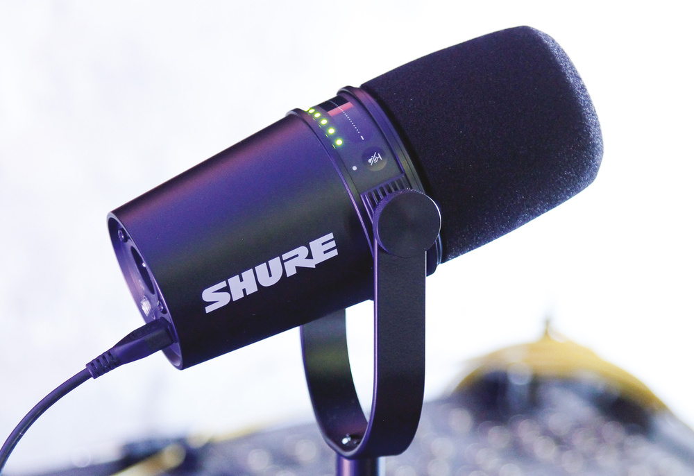 Shure MV7 混合型USB动圈式麦克风评测