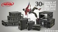 适合现场扩声、移动演出用设备防护箱的安装
