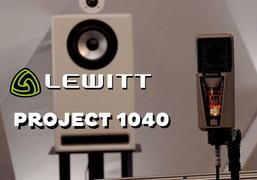 莱维特 Project 1040 麦克风测试视频  美国唱作人Rachel Eckroth参与