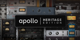 Universal Audio推出新的Apollo Heritage Editions!
