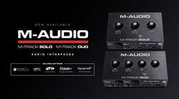 M-Audio 美奥多新款声卡 M-Track Duo&Solo 评测