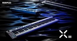贾逸可设计:MIDIPLUS X III 代系列 MIDI 键盘