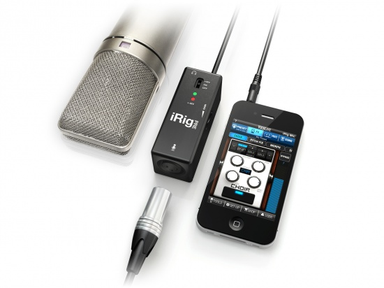 iphonetouch图片_IK Multimedia iRig PRE 话筒接口市场价格、产品参数介绍
