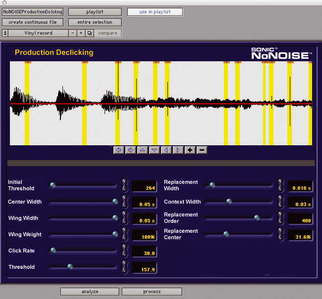 Digidesign Sonic Solutions No Noise 插件