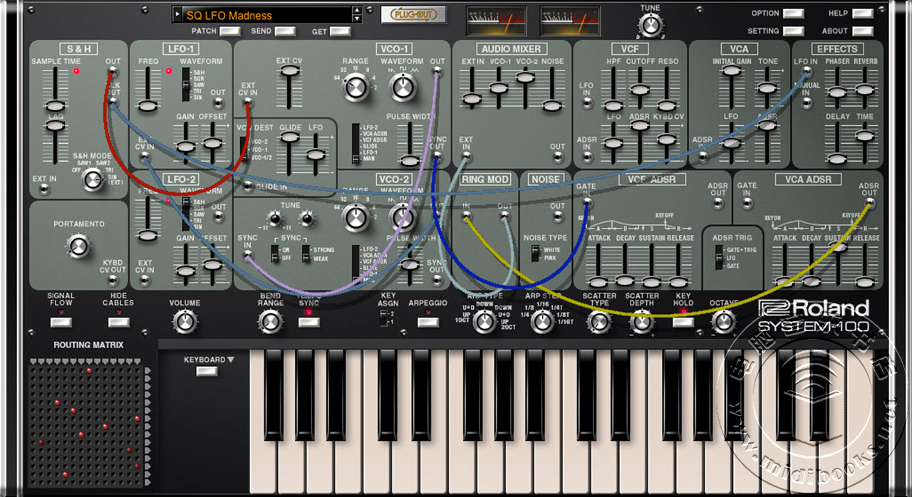 Roland 发布 System-100 Plugout软件合成器