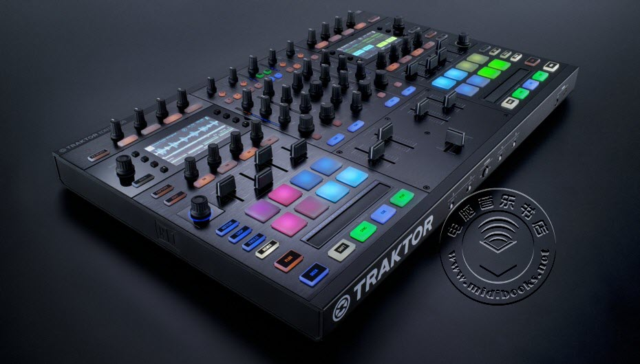 Native Instruments 正式发布 Traktor Kontrol S8 DJ 操控器