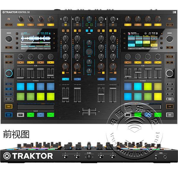 Native Instruments 正式发布 Traktor Kontrol S8 DJ 操控器