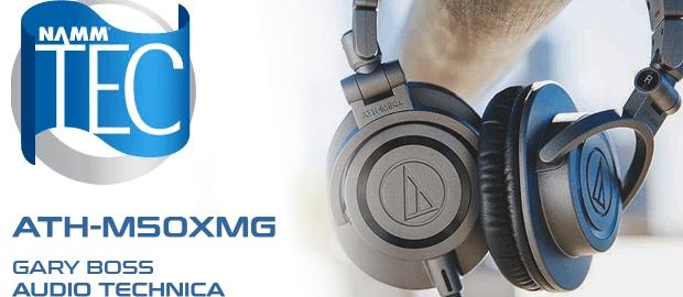 Audio-Technica ATH-M50xMG 限量版耳机提名 NAMM TEC 大奖